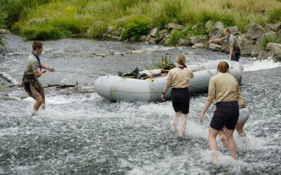 Schlauchboote für Abenteuerfahrten